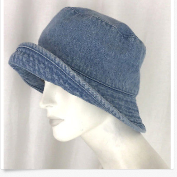 Betmar New York Womens Bucket Hat Denim Jean. M 5bc36f1a9fe4862d94a9d483 fc8b40fdff